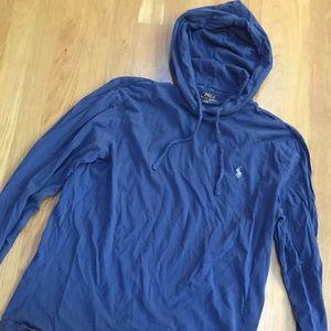Polo Ralph Lauren Small Blue lightweight hoodie